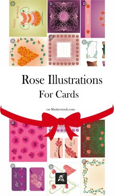 #roseillustration Explore this gorgeous set with rose illustrations! They are useful for #greeting or #invitationcards . Come and choose your favorite rose illustration! #vector #illustration #vectorart #roseart #roses #rosecard Rose Illustration, Graphic Design Illustration, Royalty Free Video, Pretty Drawings, Rose Art, Gifts For New Moms, Image Collection, Invitation Cards, Vector Art