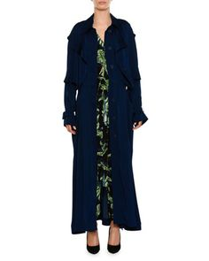 Birds Of Paradise V-Neck Drawstring-Hem Jumpsuit and Matching Items by Stella McCartney at Neiman Marcus.