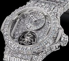 Forget performance, a luxurious watch attached to a wrist just always appears to be a significant enhancement to any wardrobe. Brand names like Rolex and Cartier carry an air of authority that real… Breitling, Bling Bling, Cartier, Hublot Watches, Men's Watches, Fashion Watches, Skeleton Watches, Expensive Watches, Luxury Watches For Men