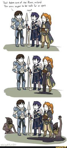 FireEmblemAwakening, Frederick, getting, sickofyourshit, Robin