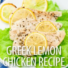 Dr Oz: It's All Greek To Me & Marinated Greek Lemon Chicken Recipe
