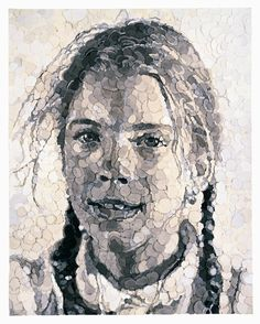Georgia, by Chuck Close
