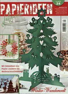Winter-Wunderwelt. Gefunden in: Papierideen filigran, Nr. 24/2015