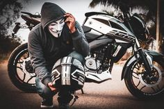Image may contain: motorcycle and outdoor Pulsar 200ns, Motorcycle Photography, Photography Poses For Men, Motorbike Girl, Motorcycle Bike, Profile Picture Images, Biker Couple, Duke Bike, Couples