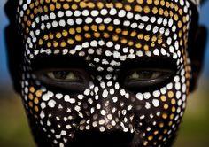 Hombre tribu Erbore Etiopia.
