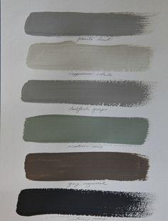 whole house paint color scheme www.jeanneoliverdesigns.com