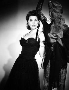 Ava Gardner in a publicity photo for Pandora and the Flying Dutchman, 1951.