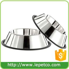 RilexAwhile Stainless Steel Dog Bowl Rubber Base Small Medium Dogs, Pets Feeder Bowl Water Bowl Perfect Choice (set of (medium) - Dog Store Dog Feeding Bowls, Stainless Steel Dog Bowls, Dog Feeder, Dog Store, Pet Bowls, Medium Dogs, Steel Material, Dog Supplies, Doge