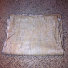 Michael Kors Scarf. NEW!! Color is tan. One size. Some damage near tag( see pictures). No trades, No low balling. My website www.divineandsexy.us use code PM get 20% off entire purchase. Free shipping on purchases over $20!  Michael Kors Accessories Scarves & Wraps