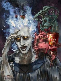 #Disney Villains - Hades BBQ