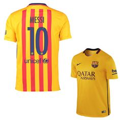 Nike Barcelona Lionel Messi  10 Soccer Jersey (Away 15 16)   SoccerEvolution 92b9ca87c