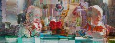Paintings 2012 - Oslo 4 2011 - oil on pvc, 187 x 500 cm, Tilh. Oslo, Norway, Painting, Artists, Painting Art, Paintings, Drawings, Artist
