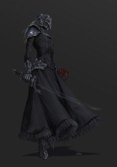 ArtStation - Dark Souls 3 Yuria of Londor, hannah ji