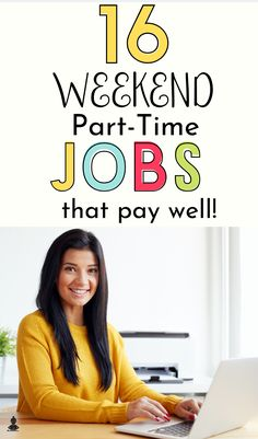 Want to make extra money on top of your day job or busy schedule? Then check out these list of the best weekend jobs for Try these flexible jobs that allow you to work on your own time or…Read More→ Legit Work From Home, Online Work From Home, Work From Home Jobs, Big Money, Extra Money, Student Jobs, College Students, Best Part Time Jobs, Weekend Jobs