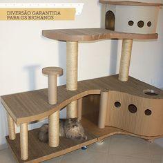 playgraund de gato, arranhador, casinha