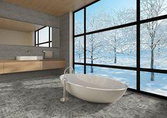 Betonbrick - Betonepoque Scandinavian Bathroom