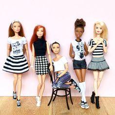 Monochrome Monday #barbie #barbiedoll #barbiemadetomove #madetomovebarbie…