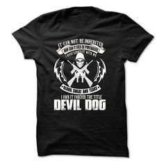 Devil Dog T-Shirts, Hoodies. SHOPPING NOW ==► https://www.sunfrog.com/Faith/Devil-Dog-29167274-Guys.html?id=41382
