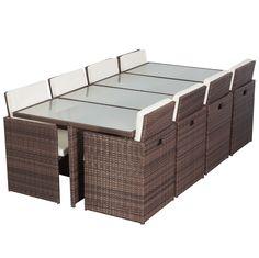 outdoor rattan half round sofa lounge set in brown | buy outdoor