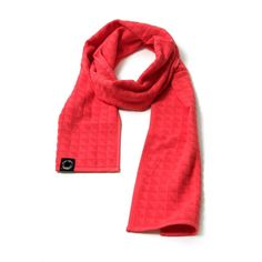 PUNCHI - Looptroop Red Hot - #Scarf that's a towel, #Towel that's a scarf