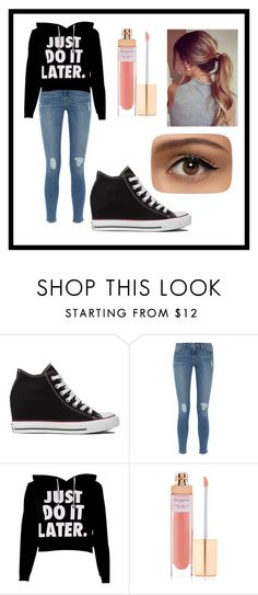 """""""Untitled #60"""" by amymcwray ❤ liked on Polyvore featuring Converse, Frame Denim, Accessorize, women's clothing, women, female, woman, misses and juniors"""