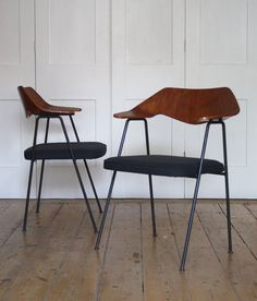 Robin Day 675 chairs, via Modern Room Vintage Furniture, Cool Furniture, Modern Furniture, Furniture Design, Modern Room, Modern Chairs, Chaise Chair, Mid Century Chair, Cool Chairs