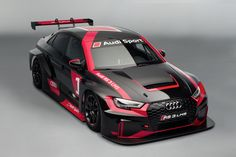 The new Audi RS 3 LMS from Audi Sport customer racing, a touring car for worldwide TCR racing series. 2015 Audi Sport TT Cup Is Customer Racing – Not Quattro Super Touring BTCC – Side…Audi Audi Rs3, Allroad Audi, Carros Audi, Volkswagen, Automobile, Bmw Autos, Auto Motor Sport, Audi Sport, Racing Team