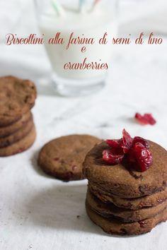 E primavera sia… Biscottini alla farina di semi di lino e cranberries   La pazza cucina di Monica