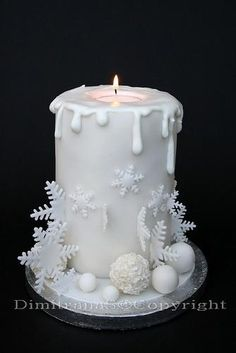 Christmas Cake love it but would be unable to cut it to beautiful to devour!