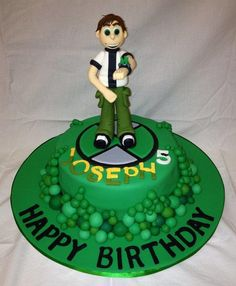 Ben 10 cake topper