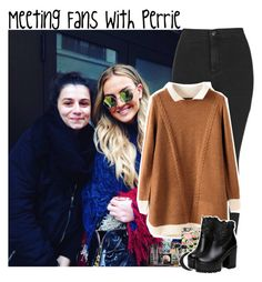 """Meeting Fans With Perrie"" by giovannacarlamalik ❤ liked on Polyvore featuring Topshop, Casetify, Sennheiser and LORAC"