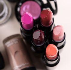 Mac glamour daze collection Lipsticks