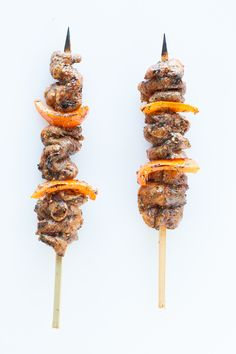 #Epicure Jamaican Jive Pork Kebabs #glutenfree Clean Eating Recipes For Dinner, Dinner Recipes, Epicure Recipes, Healthy Foods, Healthy Recipes, Grill Time, Kebabs, Caramel Apples, Spice Things Up