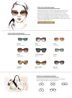 ee7df5f521 Lentes segun cara redonda, sunglasses Anteojos Para Cara Redonda, Maquillar  Cara Redonda, Tipos