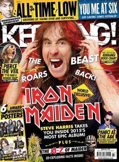 This is another Kerrang magazine. Again, it would be good to look into this company to find out what their readers like.
