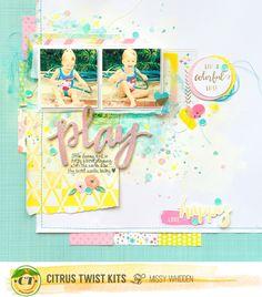 Play+*Citrus+Twist+Kits* - Scrapbook.com
