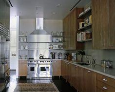 Galley kitchen in NYC apartment #galleykitchen