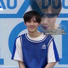 Produce X memes 🤪👍🏻 K Meme, Funny Kpop Memes, Exo Memes, Cute Memes, Memes Lindos, Harsh Words, Drama Memes, Meme Faces, Derp
