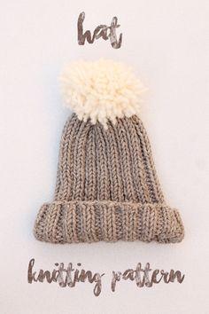 free hat knitting pattern                                                                                                                                                                                 More