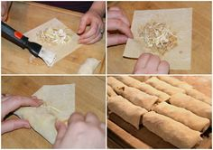 Making egg rolls at home is easier than you think! These are my husband's FAVORITE! Vegetarian Chinese Recipes, Asian Recipes, Thai Recipes, Shrimp Recipes, Chicken Recipes, Macapuno Recipe, Chinese Rolls, Easy Sponge Cake Recipe, Egg Roll Recipes