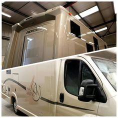 Building up ready for test. Love the colour, especially love the logo! #KPHLTD #HorseHour #horseboxes #horseboxesforsale