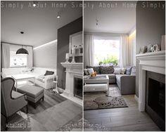 simply about home: Od wizualizacji do realizacji Furniture, Interior Design Projects, Interior, Home, Simply Home