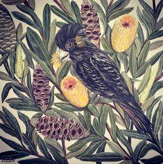 Nicole Miranda of Originally Nic is a Sydney Graphic and Visual Artist plus Ceramicist inspired predominantly by nature. Ceramic Artists, Original Artwork, Nature, Handmade, Painting, Inspiration, Biblical Inspiration, Naturaleza, Hand Made
