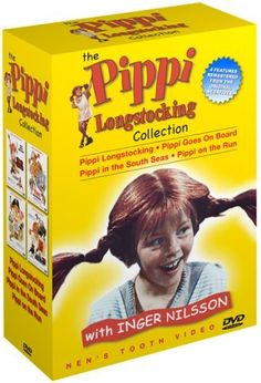 The Pippi Longstocking Collection (Pippi Longstocking / Pippi Goes on Board / Pippi in the South Seas / Pippi on the Run) DVD ~ Inger Nilsson, http://www.amazon.com/dp/B000A0GYC8/ref=cm_sw_r_pi_dp_IZ7Prb0Q4NCVF