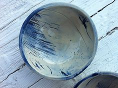 Three piece ceramic bowls by CristinaBStudio on Etsy