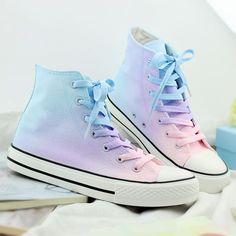 Gradient Canvas Shoes SE7652 30235301ab