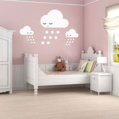 expensive room for a little girl | Funny and Fresh Vinyl Stickers For Kids Rooms | Kidsomania