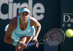 Madison Keys bombs her way into the Family Circle Cup semifinals. Read about it at Tennis Now. Wta Tennis, Tennis Racket, Lauren Davis, Tennis Live, Angelique Kerber, Family Circle, Tennis Stars, Serena Williams, Tennis Players