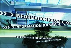 Andreas Uebele: Pappas, Salzburg Wayfinding Signage, Communication Design, Environmental Graphics, Salzburg, Experiential, Deco, Digital, Store, Larger