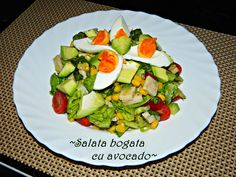 Avocado Toast, Cobb Salad, Zucchini, Vegetables, Breakfast, Food, Salads, Summer Squash, Morning Coffee